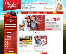 Magical Shuttle Promo Codes & Coupons