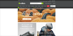Millets Promo Codes & Coupons
