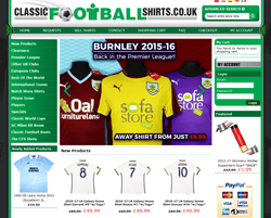Classic Football Shirtss Promo Codes & Coupons