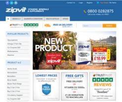 ZipVit Promo Codes & Coupons
