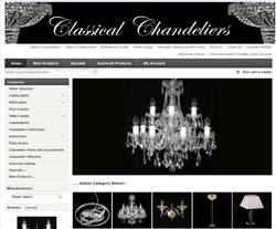 Classical Chandeliers Promo Codes & Coupons