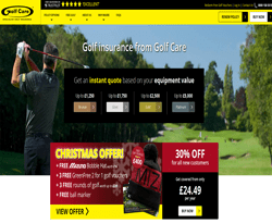 Golf Care Promo Codes & Coupons