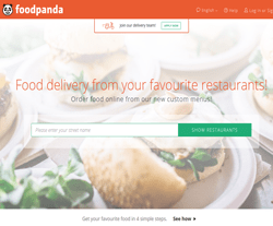 Foodpanda HK Promo Codes & Coupons