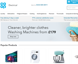 Co-operative Electrical Shop Promo Codes & Coupons