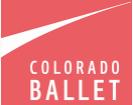 Colorado Ballet Promo Codes & Coupons