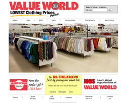 Value World Promo Codes & Coupons
