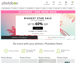 PhotoBox Coupons