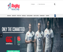 Rugby Factory Shops Promo Codes & Coupons