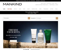 Mankind Promo Codes & Coupons