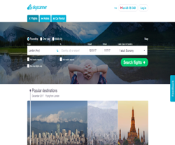 Skyscanner Canada Promo Codes & Coupons