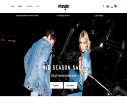 Wrangler UK Promo Codes & Coupons