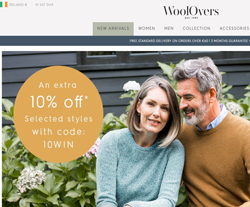 WoolOvers Ireland Promo Codes & Coupons