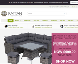 Rattan Garden Furniture Promo Code