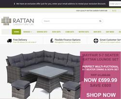 Rattan Garden Furniture Promo Codes & Coupons