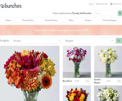 Bunches Promo Codes & Coupons
