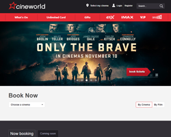 Cineworlds Promo Codes & Coupons