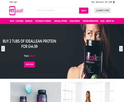 idealfit Promo Codes & Coupons