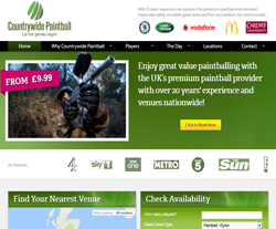 Countrywide Paintball Promo Codes & Coupons
