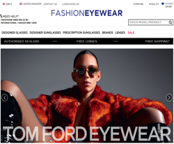 Fashion Eyewear Promo Codes & Coupons