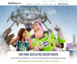 Walt Disney World Promo Codes & Coupons