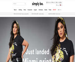 Simply Be Promo Codes & Coupons