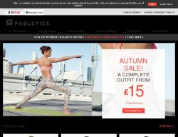 Fabletics UK Promo Codes & Coupons
