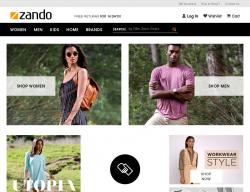 Zando Promo Codes & Coupons