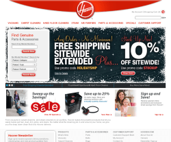 Hoover UK Promo Codes & Coupons
