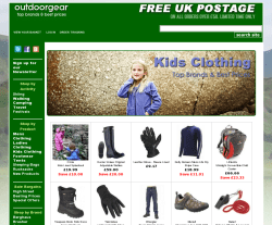Outdoor Gear Promo Codes & Coupons