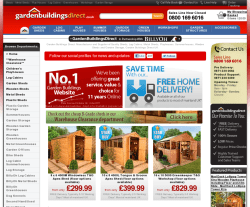 Garden Buildings Direct Promo Codes & Coupons