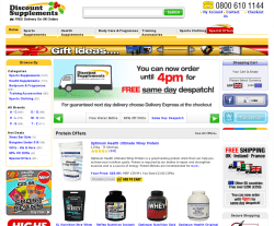 Discount Supplements Promo Codes & Coupons
