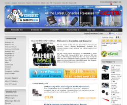Consoles and Gadgets Promo Codes & Coupons