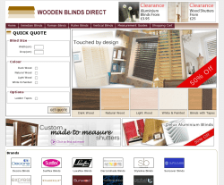 Wooden Blinds Direct Promo Codes & Coupons