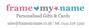 Frame My Name Promo Codes & Coupons