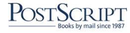 Postscript Books Promo Codes & Coupons