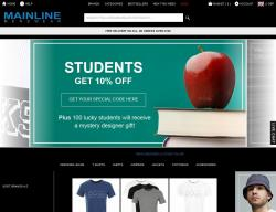 Mainline Menswear Promo Codes & Coupons