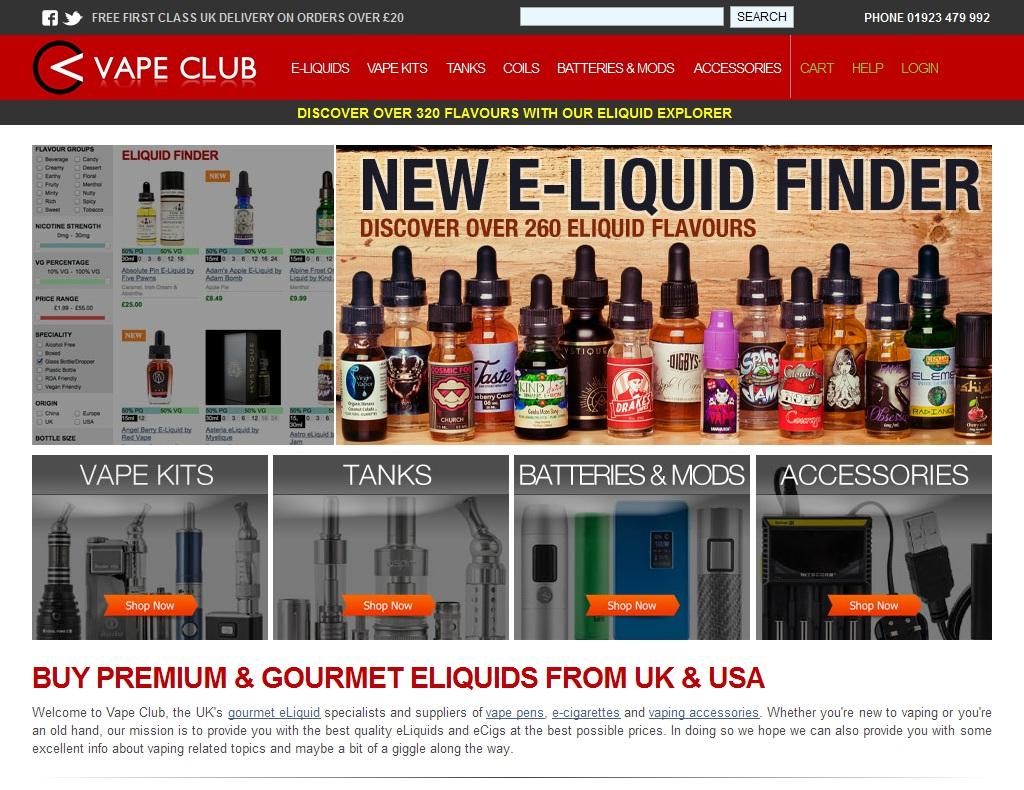 Vape Club Promo Codes & Coupons