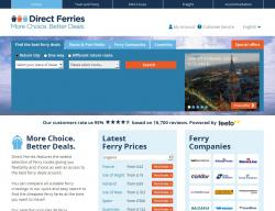 Direct Ferries Promo Codes & Coupons