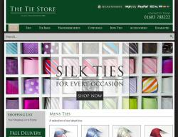 The Tie Store Promo Codes & Coupons