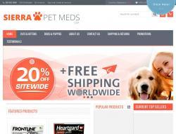 Sierra Pet Meds Promo Code